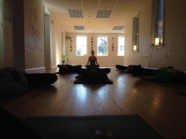 meditační póza