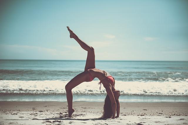 relaxace a písek