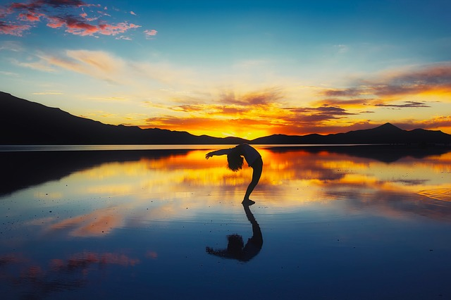 jóga ve vodě