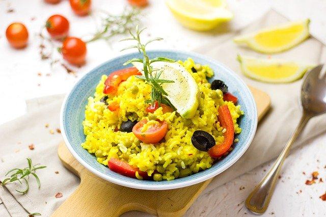 paella s citronem