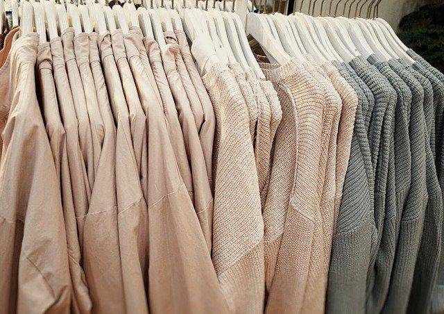 prodejna oblečení