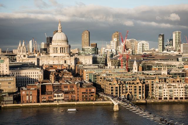 řeka v Londýně
