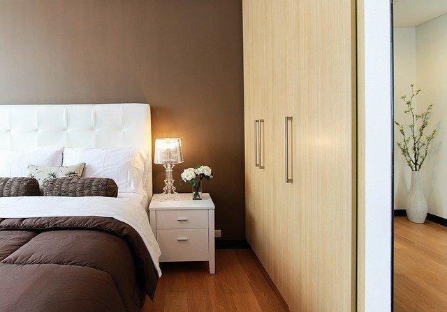 ložnice jako místo k odpočinku